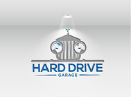 Hard drive garage Logo - Entry #376