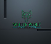 White Wolf Consulting (optional LLC) Logo - Entry #478