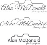 Alan McDonald - Photographer Logo - Entry #25