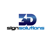 3D Sign Solutions Logo - Entry #188