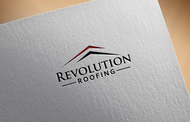 Revolution Roofing Logo - Entry #582