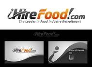 iHireFood.com Logo - Entry #111