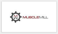Muscle MIll Logo - Entry #6