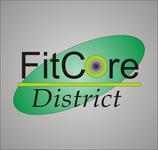 FitCore District Logo - Entry #185