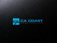 CA Coast Construction Logo - Entry #98