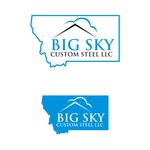 Big Sky Custom Steel LLC Logo - Entry #126