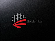 Revolution Fence Co. Logo - Entry #107