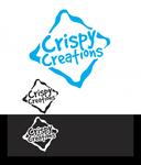Crispy Creations logo - Entry #11