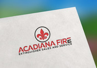Acadiana Fire Extinguisher Sales and Service Logo - Entry #34