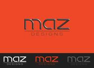 Maz Designs Logo - Entry #286