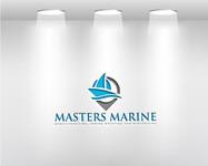 Masters Marine Logo - Entry #278
