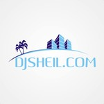 search the town .com     or     djsheil.com Logo - Entry #63