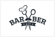 417 Barber Logo - Entry #51