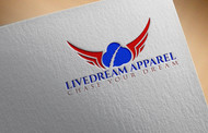 LiveDream Apparel Logo - Entry #280