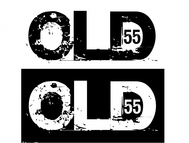 """""""OLD 55"""" - mid-century vintage furniture and wares store Logo - Entry #21"""
