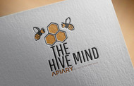 The Hive Mind Apiary Logo - Entry #64