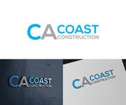 CA Coast Construction Logo - Entry #256