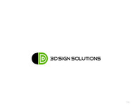 3D Sign Solutions Logo - Entry #160