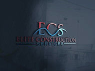 Elite Construction Services or ECS Logo - Entry #131