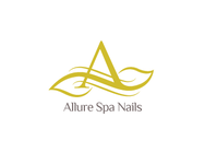 Allure Spa Nails Logo - Entry #85