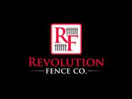 Revolution Fence Co. Logo - Entry #338