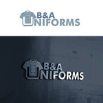 B&A Uniforms Logo - Entry #141