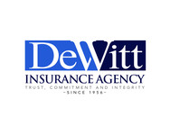 """DeWitt Insurance Agency"" or just ""DeWitt"" Logo - Entry #221"