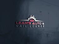 Leah's auto & nail lounge Logo - Entry #133