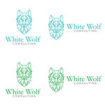 White Wolf Consulting (optional LLC) Logo - Entry #309