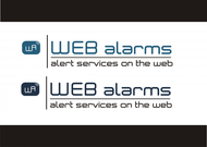 Logo for WebAlarms - Alert services on the web - Entry #141