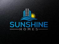 Sunshine Homes Logo - Entry #59