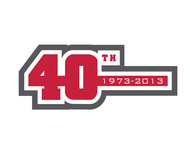 40th  1973  2013  OR  Since 1973  40th   OR  40th anniversary  OR  Est. 1973 Logo - Entry #38