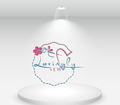 Lovingly Sew Logo - Entry #56