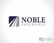 Noble Insurance  Logo - Entry #129