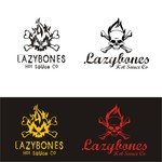 Lazybones Hot Sauce Co Logo - Entry #92