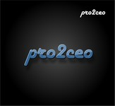 PRO2CEO Personal/Professional Development Company  Logo - Entry #116