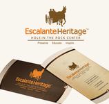Escalante Heritage/ Hole in the Rock Center Logo - Entry #16