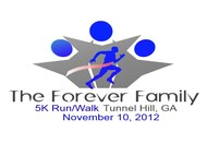 The Forever Family 5K Logo - Entry #28
