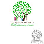 Growing Little Minds Early Learning Center or Growing Little Minds Logo - Entry #72