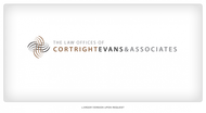 Law Office of Cortright, Evans and Associates Logo - Entry #6