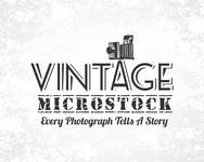 Vintage Microstock Logo - Entry #3