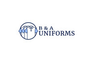 B&A Uniforms Logo - Entry #46