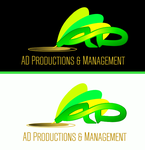 Corporate Logo Design 'AD Productions & Management' - Entry #152