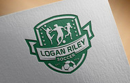 Logan Riley Soccer Logo - Entry #21