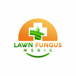 Lawn Fungus Medic Logo - Entry #119