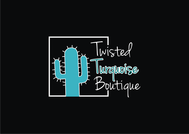 Twisted Turquoise Boutique Logo - Entry #203