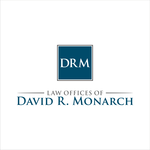 Law Offices of David R. Monarch Logo - Entry #107