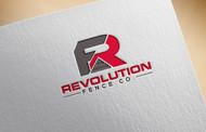 Revolution Fence Co. Logo - Entry #162