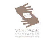Vintage Microstock Logo - Entry #82