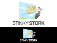Stinky Stork Logo - Entry #10